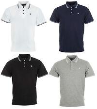 Nuevo Para Hombre Gio Goi Paco Pique Camisa Polo Camiseta