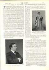 1902 Mr Murray Carson Bishops Move Honourable Michael Henry Herbert