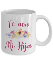 Regalo para mi Hija Amo a mi Hija Taza con Flores para Mama mug Dia de las Madre
