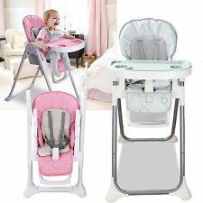 Kinderstuhl Hochstuhl Babystuhl Verstellbar Klappbar Sitzpositionen Kindersafety