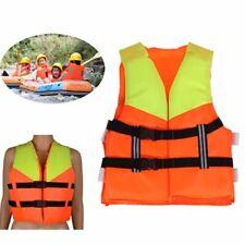 Kids Lifesaving Vest Aid Sailing Boating Sports Swimming Life Jacket  Orange S