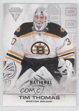2011 Panini Titanium The National 2012 #53 Tim Thomas Boston Bruins Hockey Card