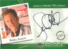 "CSI Series 1 - A11 Gerald McCullouch ""Bobby Dawson"" Auto / Autograph Card"