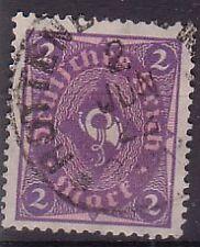 Allemagne. 1921 SG190 2m violet rose + vieux cachet utilisé.