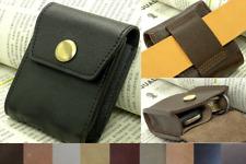 Men Waist Bag Pack key case Cow Leather Remote control car Pouch Customize A221