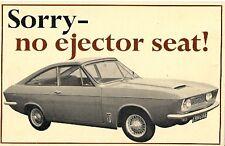 Bond Equipe 2-litri GT COUPE 1967-68 UK Opuscolo Vendite sul Mercato PIEGA