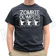 Zombie OLIMPIADI Running Jogging Uomo Donna KIDS T-SHIRT e canottiere S-XXL