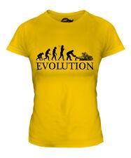 TREE SURGEON EVOLUTION OF MAN LADIES T-SHIRT TOP GIFT SURGERY LANDSCAPE GARDENER
