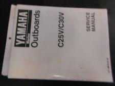 New Yamaha C25V C30V Shop Tech Service Manual Technician Owners Repair Book