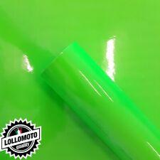 Verde Fluo Pellicola Adesiva Car Wrapping Rivestimento Auto Moto Fluorescente