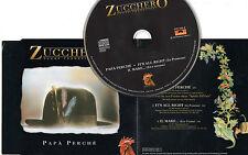 ZUCCHERO CD single 3 tracce 1995 PAPA PERCHE + It's all right + IL MARE...(live)