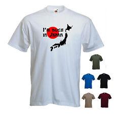I'm huge in Japan ' Mens Funny Japanese T-shirt. S-XXL