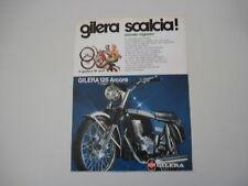 advertising Pubblicità 1975 MOTO GILERA 125 ARCORE