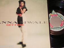 """7"""" - Anna Mwalle / Get Free & Eden downstairs Remix - MINT 1990"""