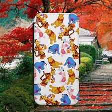 Disney/Eeyore/Tigger/Patrón/Abatible Billetera Teléfono Estuche Cubierta para iPhone/Samsung