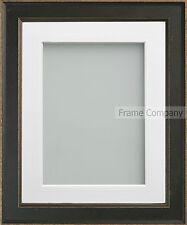 Frame Company Farrell Gama Rústico Negro Madera marcos de foto con montaje