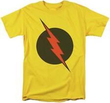 THE FLASH REVERSE LOGO SUPER HERO DC COMICS TV SHOW JUSTICE LEAGUE SHIRT S-3XL