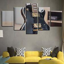 Electric Guitar Musical Instrument Canvas Print Art Painting Home Decor 5 Panels