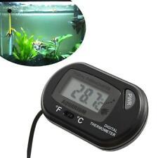 LCD digital medidor de agua de acuario tanque de peces reptiles Termometro