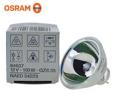 OSRAM 64637 12V100W GZ6.35 NAED 54223 microscope bulb