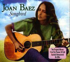 JOAN BAEZ - SONGBIRD - THE PIONEER OF FOLK -TWO ORIGINAL ALBUMS (NEW SEALED 2CD)