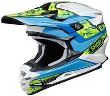 Shoei VFX-W MX Helmet Turmoil TC2 Blue Motocross/Off-road/Quad/ATV/Enduro