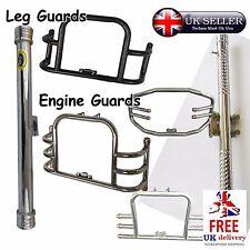 Protector Protector de motor de bloqueo de pierna moto Barra De Cubierta Universal Motocicleta