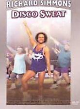 Richard Simmons - Disco Sweat (DVD, 2002)
