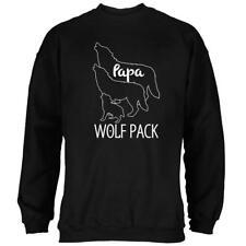 Wolf Pack Papa Dad Father Mens Sweatshirt