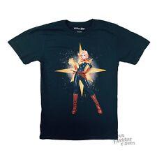 Captain Marvel Proud Avengers Marvel Comics Licensed Adult Shirt S-XXL