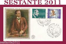ITALIA FDC FILAGRANO 1974 GUGLIELMO MARCONI ANNULLO SPECIALE TRIESTE A229