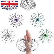 Magic Flow Rings Toys Funny Kinetic Spring Slinky Juggle Dance Gifts UK SELLER