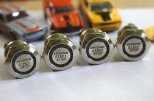 """Einbauschalter Taster Schalter 22 mm max 250V / 5A LED """"Engine start stop"""" 22mm"""