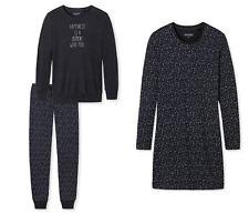 Schiesser Damen  Nachthemd Schlafanzug graphit  Auswahl Gr.38 - 48 NEU 160505/06