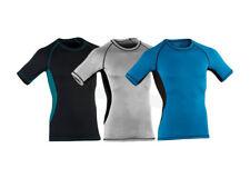 ENGEL SPORTS - Short Sleeve aus Wolle und Seide 150g/m² - Herren, slim fit