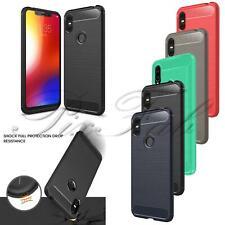 For Motorola One XT1941 / Moto P30 Play New TPU Black Clear Gel Phone Case Cover