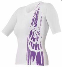 Scubapro Purple Mermaid Rashguard Women's Short Sleeve - White/Purple