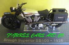 MOTO CLASSIQUE 1/24 BROUGH SUPERIOR SS100  MOTORRAD MOTORCYCLE