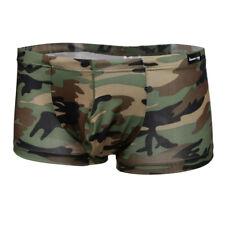Nylon Shorts Swimwear Boyshorts Underwear Pants Men's Boxer Briefs Swim Trunks