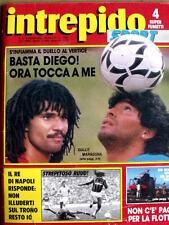 Intrepido 2 1988 Ruud Gullit e Diego Armando Maradona