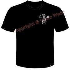 Papa Bod Badge officiel T-shirt Hull Pongo Homme Clem Wear City Père's Jour Cadeau