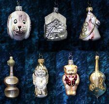 Christbaumschmuck Weihnachtskugeln Glasfiguren Anhänger Baumschmuck Weihnachten