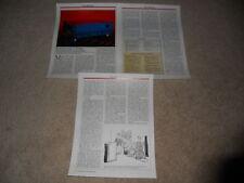 Kenwood KA-3300d Integrated Amplifier Review, 3 pg, 1987, Full Test