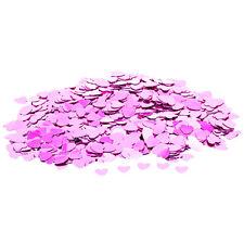 Konfetti Herzen gold, flieder, pink, rosa oder silber – Tischdeko Hochzeit 14 g