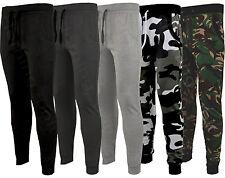 Da Uomo Slim Skinny Fit Designer Stretch Pantaloni Sportivi Pantaloni Jogging GYM Camouflage