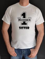 Número 1 UNA HERMANA, cumpleaños, regalo, Divertido Camiseta