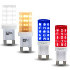 Azul Rojo Blanco Cálido G9 LED Bombilla 3 W de reemplazo para cápsulas de halógeno G9