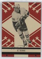 2011 O-Pee-Chee Retro Blank Back #SHSI Shane Sims New York Islanders Hockey Card