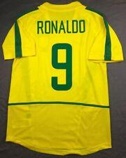 MAGLIA CALCIO RETRO BRASILE HOME 2002 WORLD CUP 9 RONALDO FENOMENO BRASIL BRAZIL