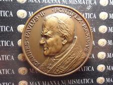MEDAGLIA BRONZO GIOVANNI PAOLO II 1984